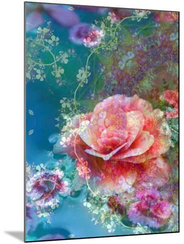 Floral Montage-Alaya Gadeh-Mounted Photographic Print