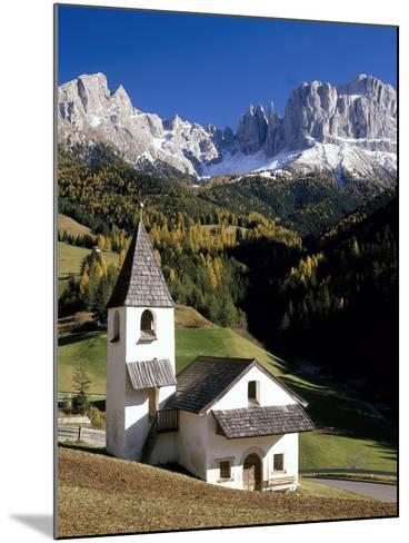 Italien, Sv¼dtirol, Villnv?VŸtal, St. Cyprian, Geislerspitzen, AuvŸen, Berglandschaft-Thonig-Mounted Photographic Print