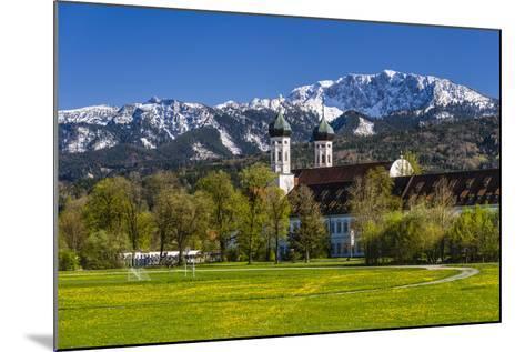 Germany, Bavaria, Upper Bavaria, Tšlzer Land (Area), Benediktbeuern-Udo Siebig-Mounted Photographic Print