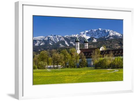 Germany, Bavaria, Upper Bavaria, Tšlzer Land (Area), Benediktbeuern-Udo Siebig-Framed Art Print