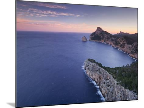 Spain, Mallorca, Formentor Peninsula, Rock, Mediterranean Sea-Rainer Mirau-Mounted Photographic Print