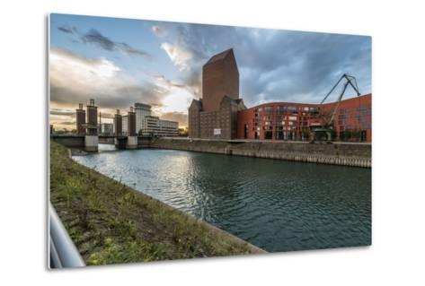 Duisburg, North Rhine-Westphalia-Bernd Wittelsbach-Metal Print