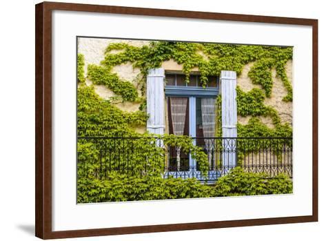 France, Provence, Vaucluse, Saint-Saturnin-L?s-Apt, Architecture Detail-Udo Siebig-Framed Art Print
