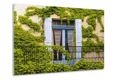 France, Provence, Vaucluse, Saint-Saturnin-L?s-Apt, Architecture Detail-Udo Siebig-Metal Print