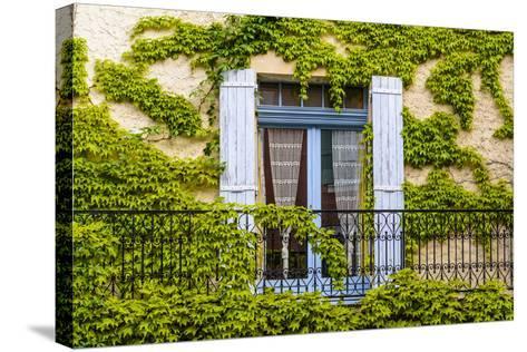 France, Provence, Vaucluse, Saint-Saturnin-L?s-Apt, Architecture Detail-Udo Siebig-Stretched Canvas Print