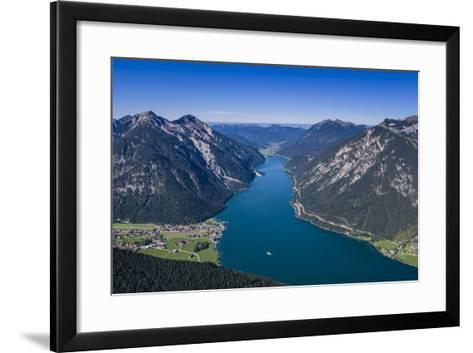 Austria, Tyrol, Achensee Region, Karwendel Mountains, Pertisau-Udo Siebig-Framed Art Print
