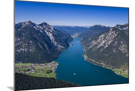 Austria, Tyrol, Achensee Region, Karwendel Mountains, Pertisau-Udo Siebig-Mounted Photographic Print