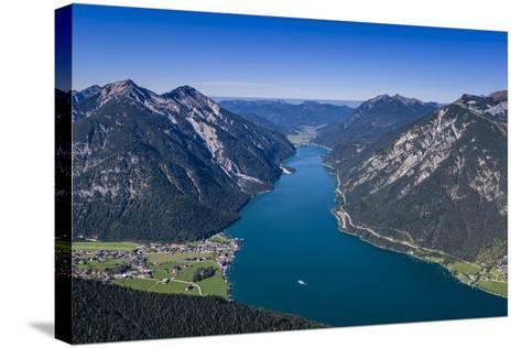 Austria, Tyrol, Achensee Region, Karwendel Mountains, Pertisau-Udo Siebig-Stretched Canvas Print