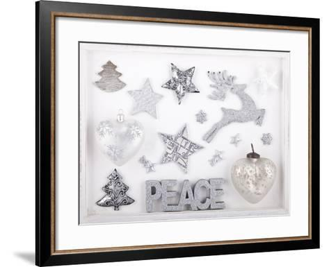 Christmas Decoration in the Foresten Frame-Andrea Haase-Framed Art Print