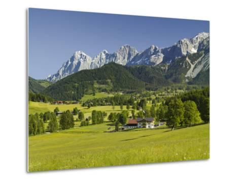 Ramsau, Dachstein, Summer Meadow, Styria, Austria-Rainer Mirau-Metal Print