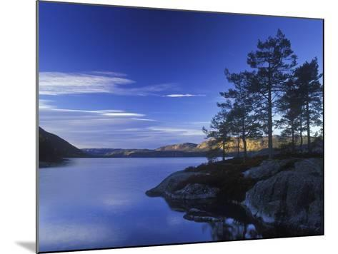 Norway, Telemark, Nisser Lake, Sunrise-Andreas Keil-Mounted Photographic Print