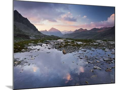 Austria, Tyrol, Bieltal, VallŸla, Lake-Rainer Mirau-Mounted Photographic Print