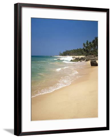 Maldives, Island, Back Light-Thonig-Framed Art Print