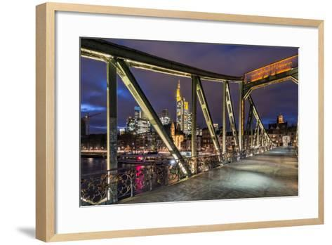Frankfurt on the Main, Hesse-Bernd Wittelsbach-Framed Art Print