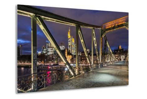 Frankfurt on the Main, Hesse-Bernd Wittelsbach-Metal Print