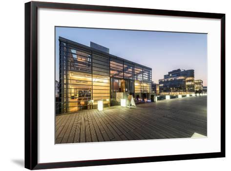 DŸsseldorf, North Rhine-Westphalia-Bernd Wittelsbach-Framed Art Print