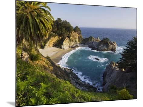Mcway Falls, Mcway Cove, Julia Pfeiffer Burns State Park, California, Usa-Rainer Mirau-Mounted Photographic Print