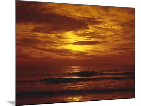 Sundown by the Sea-Thonig-Mounted Photographic Print