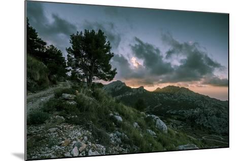 Sunset on Majorca, Serra De Tramuntana-Jorg Simanowski-Mounted Photographic Print