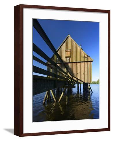 Germany, Thuringia, 'Naturpark ThŸringer Schiefergebirge/Obere Saale'-Andreas Vitting-Framed Art Print