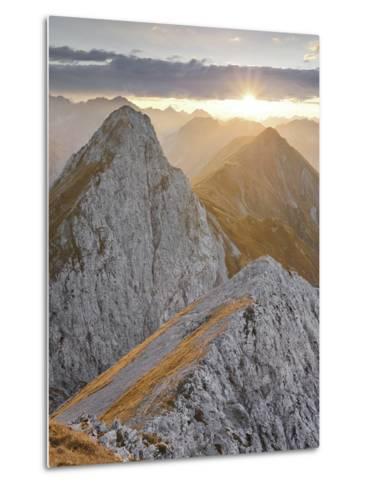 Falschkogel, Steinjšchl, Hahntennjoch, Lechtal Alps, Tyrol, Austria-Rainer Mirau-Metal Print