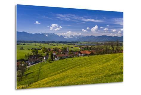 Germany, Bavaria, Upper Bavaria, Pfaffenwinkel, Aidling-Udo Siebig-Metal Print