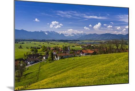Germany, Bavaria, Upper Bavaria, Pfaffenwinkel, Aidling-Udo Siebig-Mounted Photographic Print