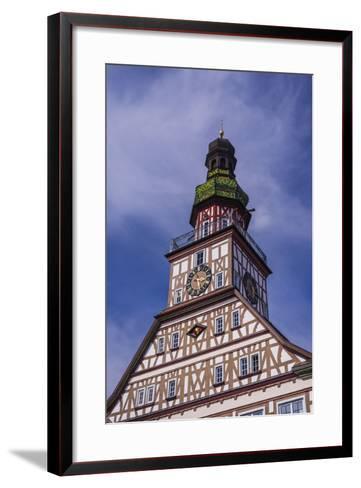 Germany, Baden-Wurttemberg, Metropolregion Stuttgart, Kirchheim Unter Teck, City Hall-Udo Siebig-Framed Art Print