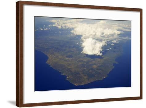 Above the Clouds- Skaya-Framed Art Print