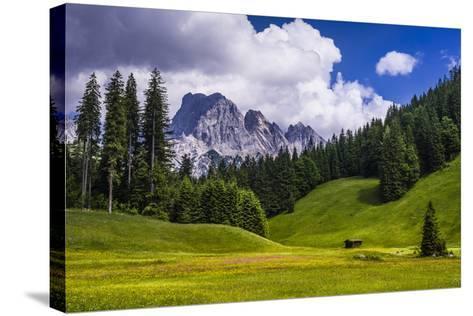 Austria, Salzburg Country, Wei?bach with Lofer-Udo Siebig-Stretched Canvas Print