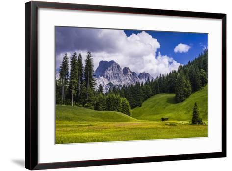 Austria, Salzburg Country, Wei?bach with Lofer-Udo Siebig-Framed Art Print