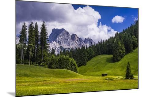 Austria, Salzburg Country, Wei?bach with Lofer-Udo Siebig-Mounted Photographic Print