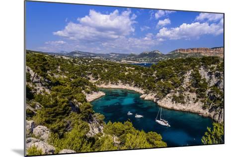 France, Provence, Bouches-Du-Rh™ne, Riviera, Cassis, Calanque De Port Pin-Udo Siebig-Mounted Photographic Print