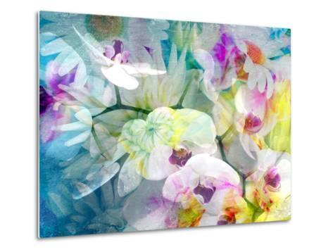 Composition with Flowers-Alaya Gadeh-Metal Print