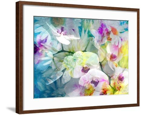 Composition with Flowers-Alaya Gadeh-Framed Art Print