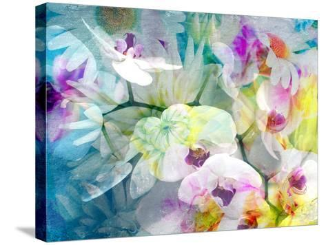 Composition with Flowers-Alaya Gadeh-Stretched Canvas Print