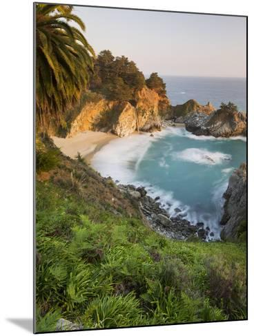 Mcway Falls, Mcway Cove, Julia Pfeiffer Burns State Park, California, Usa-Rainer Mirau-Mounted Photographic Print