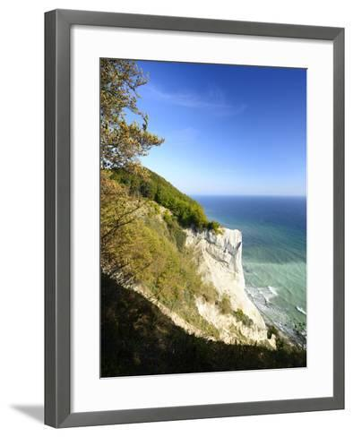 Denmark, Island M¿n, the Chalk Rocks of M¿ns Klint-Andreas Vitting-Framed Art Print