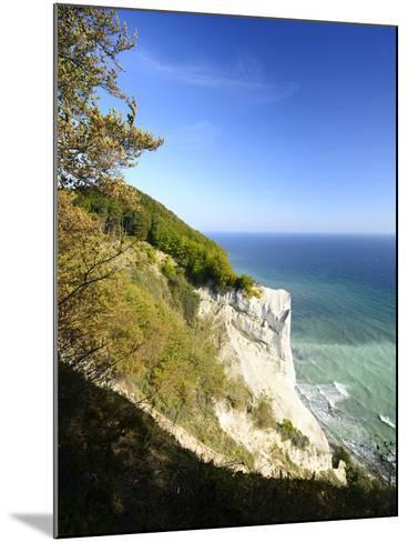Denmark, Island M¿n, the Chalk Rocks of M¿ns Klint-Andreas Vitting-Mounted Photographic Print