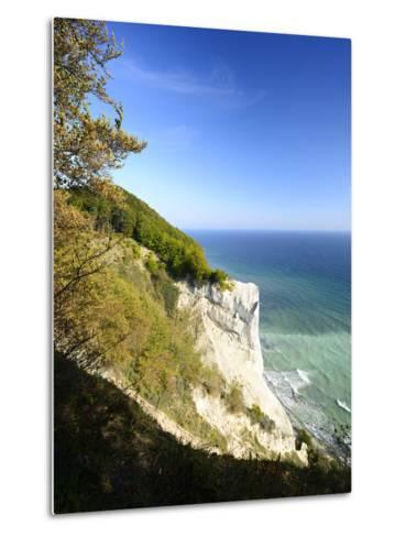 Denmark, Island M¿n, the Chalk Rocks of M¿ns Klint-Andreas Vitting-Metal Print