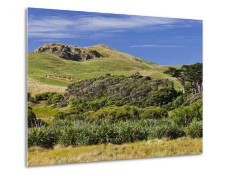 Wharariki, Tasman, South Island, New Zealand-Rainer Mirau-Metal Print