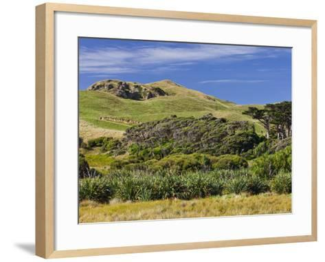 Wharariki, Tasman, South Island, New Zealand-Rainer Mirau-Framed Art Print