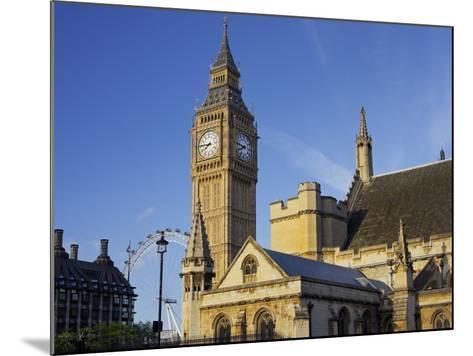 Westminster Palace, Big Ben, London, England, Great Britain-Rainer Mirau-Mounted Photographic Print