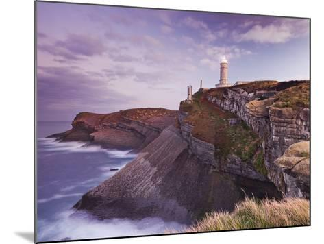 Lighthouse Cabo Mayor Near Santander, Kantabrien, Spain-Rainer Mirau-Mounted Photographic Print