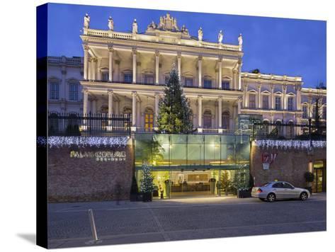Palais Coburg, Theodor Herzl Square, 1st District, Vienna, Austria-Rainer Mirau-Stretched Canvas Print