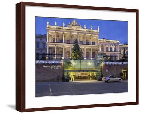 Palais Coburg, Theodor Herzl Square, 1st District, Vienna, Austria-Rainer Mirau-Framed Art Print