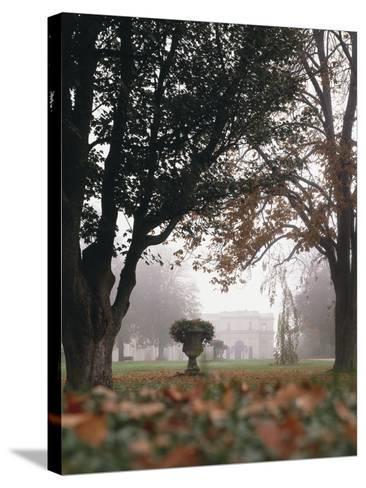 The USA, Rhode Island, Newport, Villa Rosecliff-Thonig-Stretched Canvas Print
