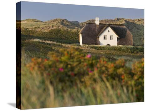 House 'Kliffende' Close Kampen (Municipality), Sylt (Island), Schleswig-Holstein, Germany-Rainer Mirau-Stretched Canvas Print