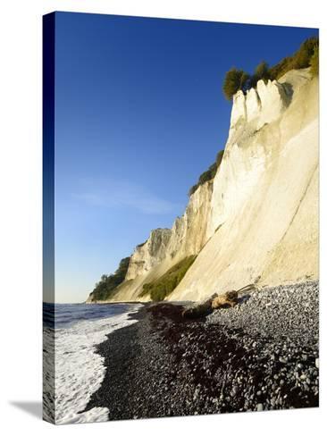 Denmark, Island M¡N, the Chalk Rocks of M¡Ns Klint-Andreas Vitting-Stretched Canvas Print