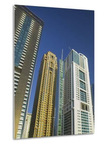 Jumeirah Lakes Towers, Dubai, United Arab Emirates-Rainer Mirau-Metal Print